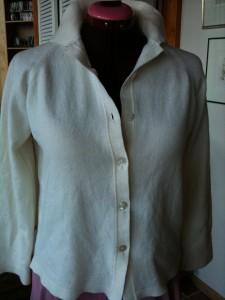 Merino sweater precouture